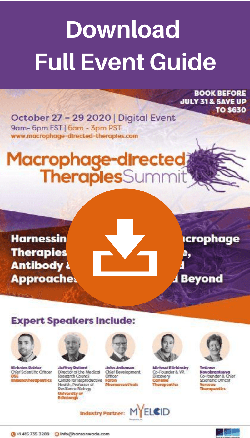 macrophage directed therapies - brochure