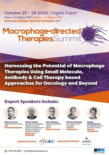 Macrophage directed therapies summit - event guide
